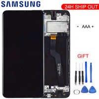 Calidad Original para Samsung Galaxy A10 A105 A105F SM-A105F pantalla LCD con digitalizador de pantalla táctil con marco