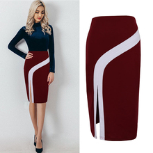 Women Skirt Bodycon Skirt Office Women Slim Knee Length High Waist Stretch Sexy Pencil Skirts Casual Bodycon Skirts цена и фото