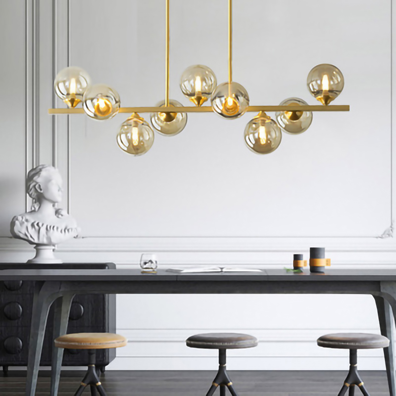 Modern Nordic hang lamp design copper LED <font><b>Pendant</b></font> <font><b>Lights</b></font> Creativity led <font><b>Pendant</b></font> Lamps for Living Room Bedroom Lighting Fixtures image