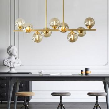цена Modern Nordic hanglamp design copper LED Pendant Lights luminaires led Pendant Lamps for Living Room Bedroom Lighting Fixtures онлайн в 2017 году