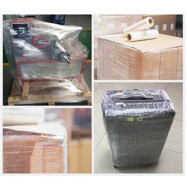 Color Stretch Film Antistatic Industrial Logistics Transport PE Plastic Sticky Wire Drawing Winding Package Goods Tray Wrapped