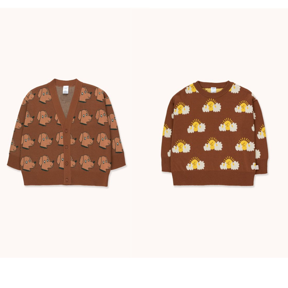 Presale 2020 Spring and Summer New Children's Wear TC Series Children's Knitting Sweaters kids sweaters