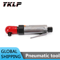 3/8'' Pneumatic Air Ratchet Wrench Mechanics Automotive Power Professional Tool