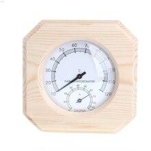 Деревянный термометр для сауны, гигрометр, гигротермограф, прибор для измерения температуры L29K