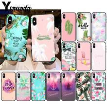 Yinuoda Cool in summer iPhone 11 용 전화 케이스 11Pro X XS MAX XR 8 7 6 6S Plus 5 5S SE(China)