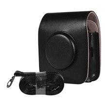 Kamera Tasche Fall PU Leder Für FUJIFILM Instax PLATZ SQ20 SQ10 Vintage Schulter Strap Pouch Kamera Schutz Tragen Abdeckung
