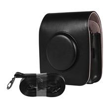 กระเป๋ากล้องหนังPUสำหรับFUJIFILM Instax SQUARE SQ20 SQ10 สายคล้องไหล่VINTAGEกระเป๋ากล้องพกพา