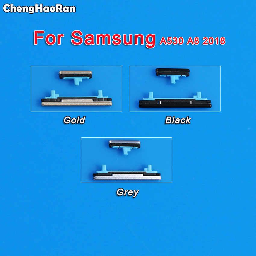 ChengHaoRan Samsung Galaxy A3 A5 A7 2016 2017 A310 A510 A320 A520 A720 A530 telefon kılıfı Çerçeve Ses Güç Düğmesi yan Anahtar