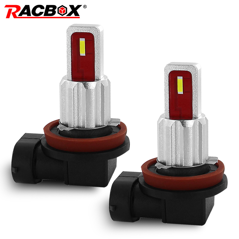 New 2pcs/set H1 <font><b>H7</b></font> H8 H11 HB3 9005 HB4 9006 LED Fog light Bulbs 6000k White Yellow <font><b>2000LM</b></font> DRL car Driving Light Fog light 12V image