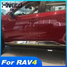 Para Toyota Rav4 2020 2021 accesorios para el coche accesorios puerta, carrocería de acero inoxidable decoración del cuerpo de Exterior de modificación