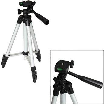 Gosear patas de aluminio Universal Dslr trípode Trepied 4 secciones para camaras para DSLR SLR cámara Digital soporte videocámara con bolsa