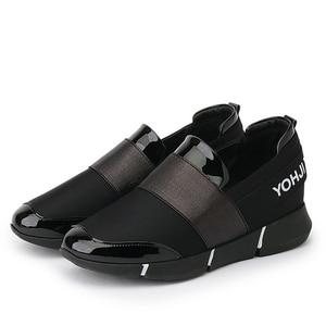 Image 2 - BANGJIAO 여성 캐주얼 로퍼 통기성 여름 플랫 신발 여성 슬립 캐주얼 신발 New Zapatillas Flats Shoes Size 35 40