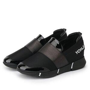 Image 2 - BANGJIAO kadınlar günlük mokasen ayakkabı nefes yaz düz ayakkabı kadın üzerinde kayma rahat ayakkabılar yeni Zapatillas Flats ayakkabı boyutu 35 40