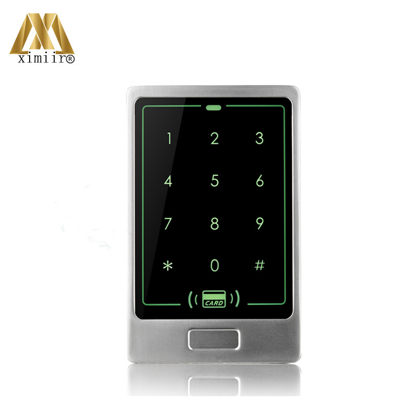 IP65 Waterproof Standalone Card Access Control Without Software M13B Smart Access Control 125KHz RFID Card Reader