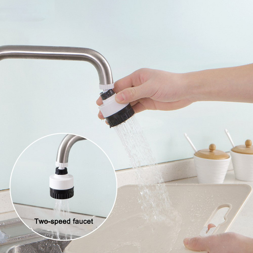 Adjustable Faucet Tap 360 Degree Dual Mode Swivel Shower Head Water Saving Filtered Kitchen Faucet For Faucet Kitchen Accessory