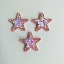 24 шт/лот 32 см блестящая Звезда Мягкая аппликация для «сделай