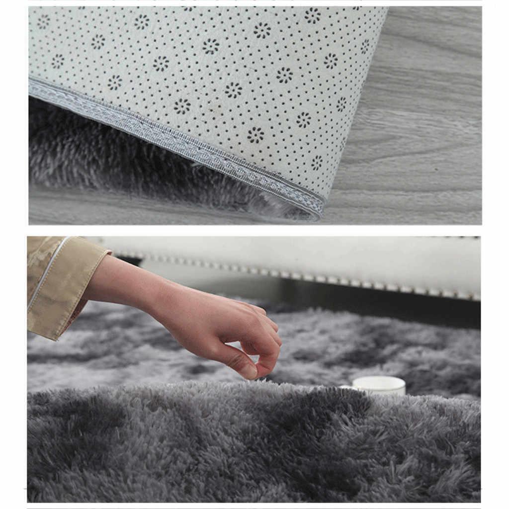 Habitación dormitorio alfombra Ultra suave alfombras de área modernas alfombras Shaggy alfombra casa habitación de alfombra hogar Decoración alfombra moderna Mat