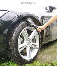 1 sztuk Wassen Schoonmaken Voor Auto Met plastikowe Handvat Auto Wassen Cleaner Gereedschap Auto Borstel czyszczenie opon Drop Ship tanie tanio CN (pochodzenie) 29cm polyester sponge Cleaning 13 5 X 9 X 3cm Support