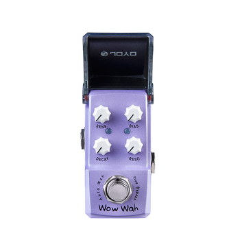 JOYO JF-322 Wow Wah Auto Guitar Effect Pedal Mini Pedal True Bypass  for Electric Guitar BIAS DECAY Acoustic Simulator Effect mosky mini vol attenuator pedal electric guitar effect pedal with true bypass