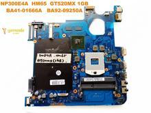 Original für Samsung NP300E4A laptop motherboard NP300E4A HM65 GT520MX 1GB BA41-01666A BA92-09250A getestet gute freies verschiffen