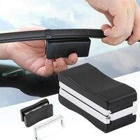 Acessórios do carro ferramenta de repaire limpador para pára-brisas limpador lâmina restorer plástico pára-brisa scratch repair kit