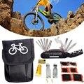 Велосипедная велосипедная шина набор инструментов для ремонта проколов набор ключей с сумкой