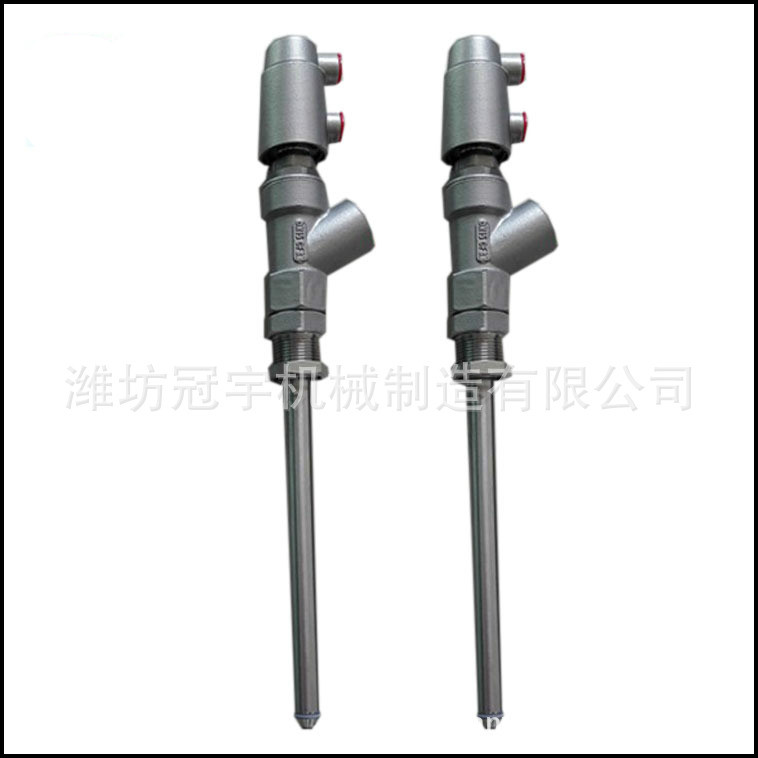 Stainless Steel DN15-27 Rod Anti-drip Pneumatic Nozzle Filling Valve For Filling Machine
