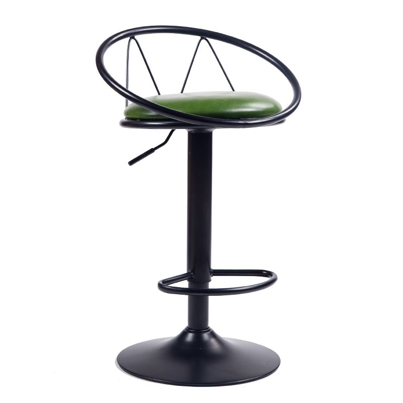 Bar Stool Home Bar Chair American Wrought Iron High Stool Retro Bar Stool Lift Chair Restaurant Cafe Chair
