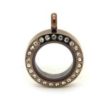 10 шт/лот 20 мм магнитные стеклянные поплавковые медальоны из