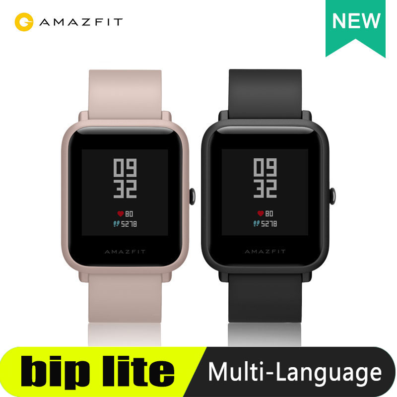 Amazfit Bip Lite Smart Watch 45 Days Battery Life 3ATM Water  resistance Activity Healthy Tracking Smartphone Apps NotificationsSmart  Watches