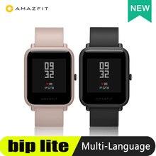 Reloj inteligente Amazfit Bip Lite, reloj inteligente resistente al agua hasta 3ATM, con 45 días de batería y notificaciones de aplicaciones para teléfono inteligente