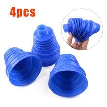 4 шт., Автомобильные силиконовые коннекторы для пылезащитных накладок, 2 см/0,79 дюйма