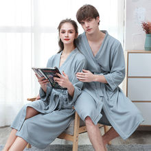 Летние женские халаты большого размера Платья для красивой пары