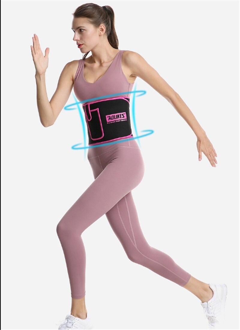 Women Waist Trainer Abdomen Belt Slimming Body Shaper Sports Gym Girdle L/&6