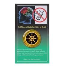 Pegatina de protección EMP para teléfono inteligente protección antiradiación EMR EMF, protección contra radiación, escudo cuántico para embarazadas, 50 Uds.