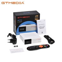 GTC 4K Smart TV Box Android 6.0 Android TV BOX 2GB 16GB Google Play Store Netflix Youtube 4K Android+DVB S/S2+T/T2/Cable/ISDBT