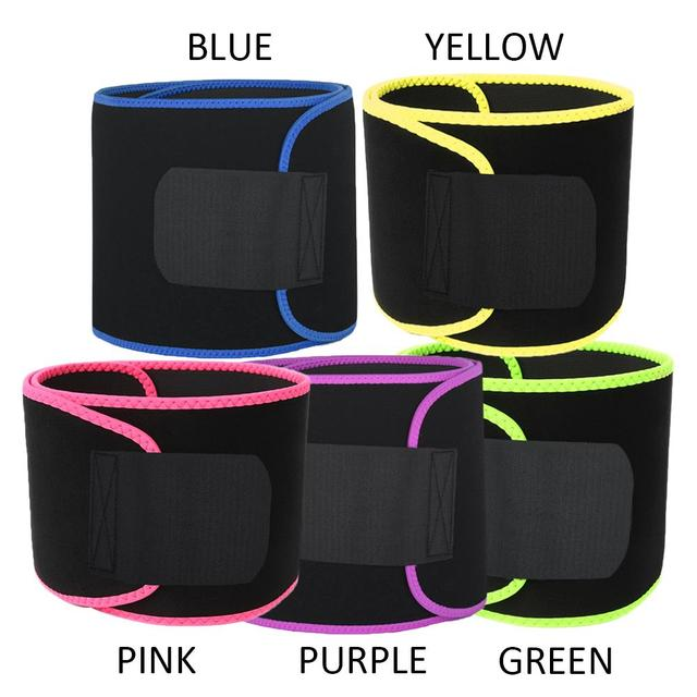 Professional Rubber Waist Protection Sport Goods Sweat Belt Sport Belt Fitness Centre Gym Marvellous Waist Trimmer Yoga Outdoor 5