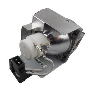 Image 4 - HFY 5J.J7L05.001 yedek projektör lamba ampulü için konut ile BENQ W1070 / W1080ST