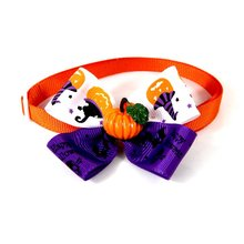 Lovely Halloween Pets Cats Dogs Tie Wedding Accessories Bowtie Collar Holiday Decoration Grooming Necktie