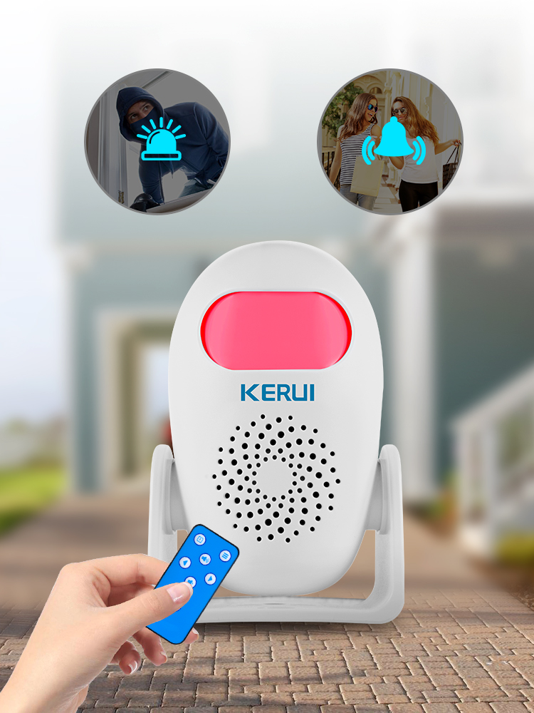 KERUI Alarm Motion-Detector Remote-Controller Wireless-Alarm-System Anti-Theft Home-Security