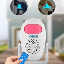 KERUI M120 Smart 100 дБ PIR инфракрасный анти-вор Защита от взлома Многофункциональный детектор движения человека для гаража магазин домашней безопа...