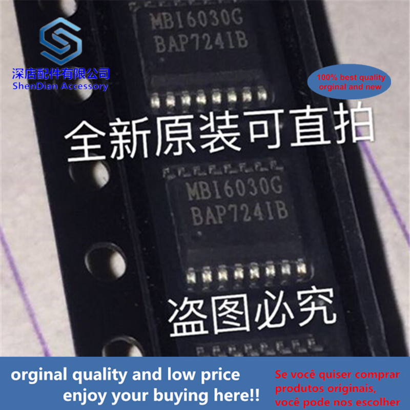 5pcs 100% Orginal And New MBI6030GP SSOP16 MBI6030G MB16030G Best Qualtiy