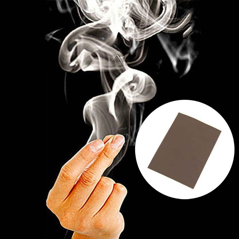Voodoo Magic Smoke Finger Magic Tips Surprise Prank Joke Mystery Fun Fingers Empty Hand Out Smoke Magic Props Comedy Magic
