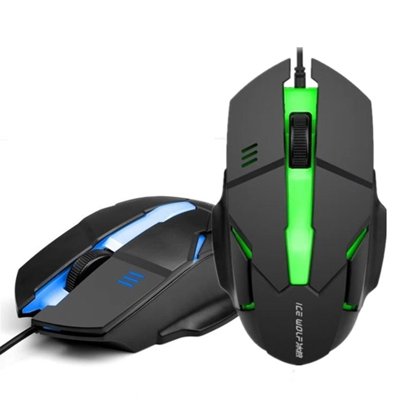 Brand New Wired Backlit Mouse Ergonomic Optical Mouse Computer Gaming Mouse Fashion Potable Fast Move Mouse For Laptop Pc