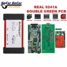 Multidiag pro + v 2017.1/2016. r1 livre keygen bluetooth v3.0 verde duplo pcb real 9241a chip nec relés para carro/caminhão tcs pro vci
