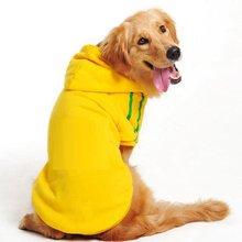 Зимняя одежда для больших собак теплое флисовое пальто домашних