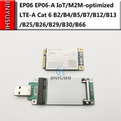EP06 EP06-E EP06-A IoT/M2M-optimized LTE-A Cat 6 Mini módulo PCIe con adaptador USB ranura para tarjeta SIM soporte Openwrt mikrotik