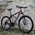 Горный велосипед  шины 24/26 дюйма 21/24/27/30 скорости  двойной дисковый тормоз