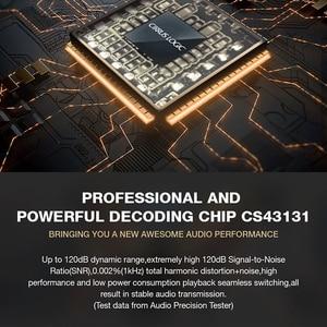 Image 5 - Chip Hidizs S8 CS43131, miniamplificador de decodificación HiFi, USB DAC, PCM, 32 bits/384kHz, Native DSD256 para iOS/Android/PC Lightning/tipo c