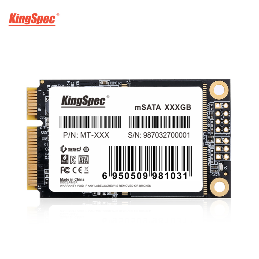 KingSpec mSATA SSD 120gb 240gb 512GB mSATA SSD 1TB 2TB HDD For computer 3x5cm Internal Solid State hard Drive for hp laptop